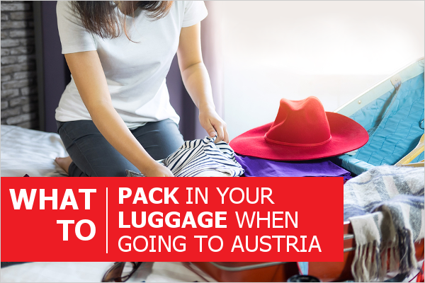 Packing guide for Austria